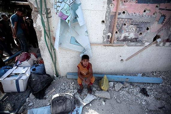 Milyonlarca çocuk çatışmalar nedeniyle okulsuz