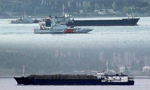 Rus askeri kargo gemisi yükle gitti; boş döndü