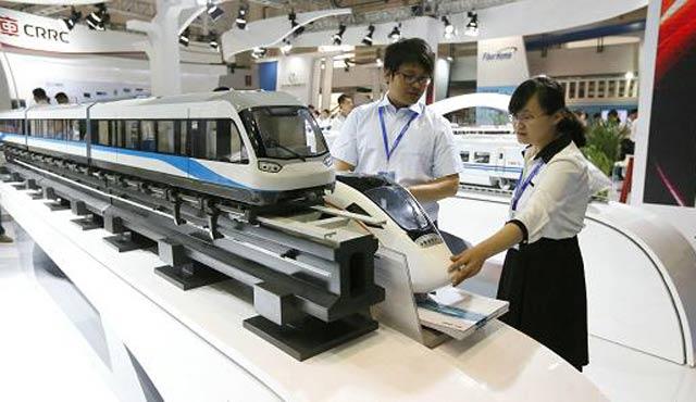 Çin şirketi ABD'de tren vagonu ihalesi aldı