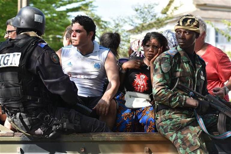 Fildişi Sahili'nde otel saldırısı: 16 ölü