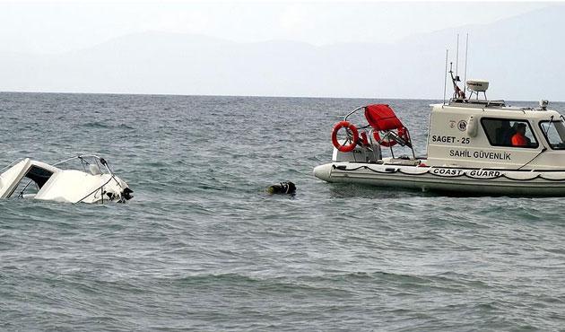 Enez'de mülteci teknesi battı