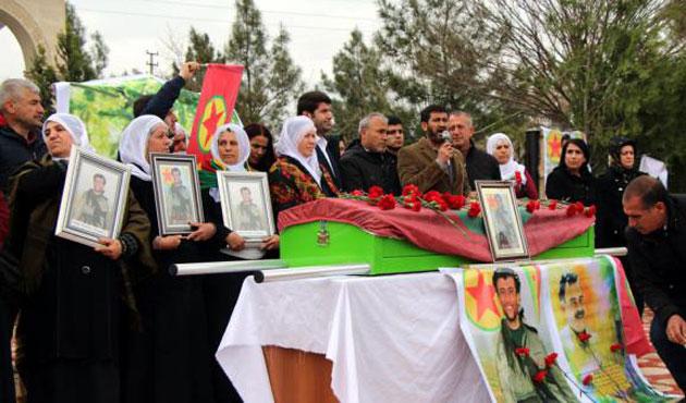 HDP'li vekiller yine PKK'lı cenazesinde