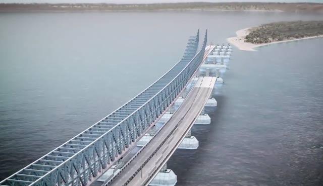Kerç Boğazı'ndaki köprüye çarpan gemiye ceza