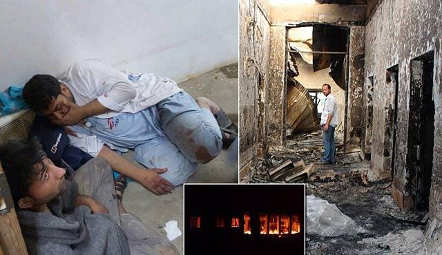 Afganistan'da hastane vuran askere disiplin cezası