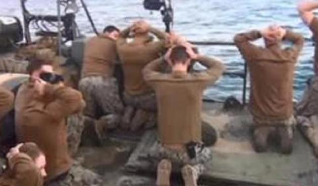 ABD'li komutana 'İran'da gözaltı' cezası
