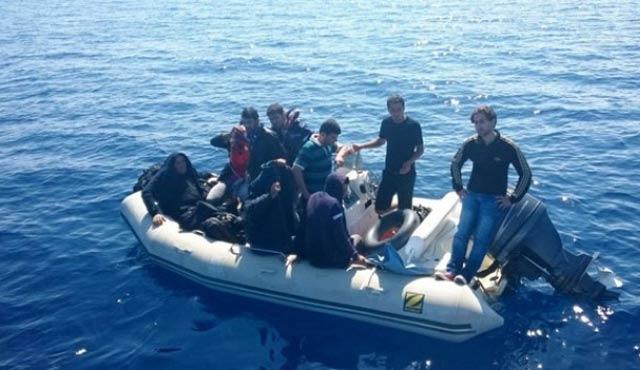 Çanakkale'de 102 yabancı uyruklu yakalandı