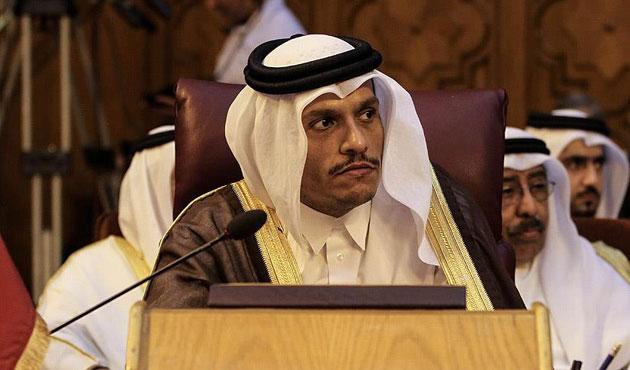 Katar Dışişleri Bakanı Al Sani Moskova'da