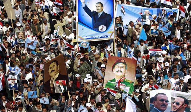 Yemen'de binler Suudi operasyonlarını protesto etti