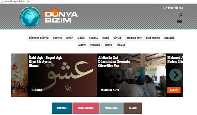 Dunyabizim.com yenilendi