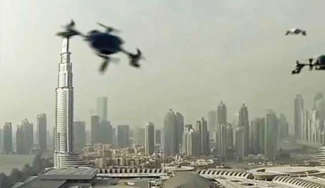 Dubai'de İHA'lar suçüstü yapacak