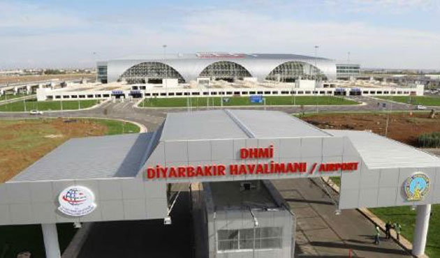 Diyarbakır'dan ilk dış hat uçuş Erbil'e