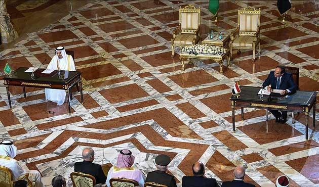 Suudi Arabistan ve Mısır arasında 19 anlaşma