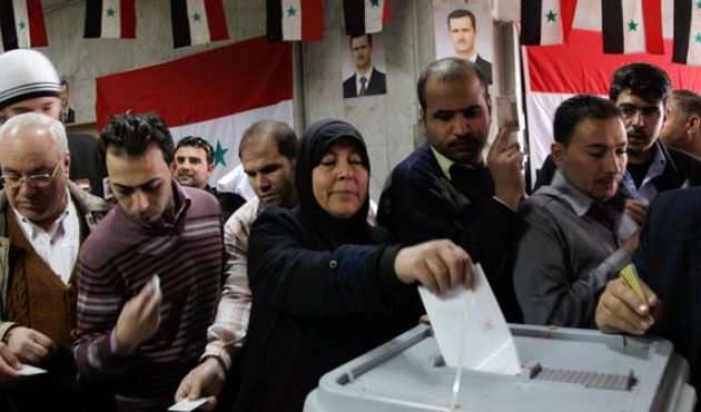 Suriye'de seçim günü!