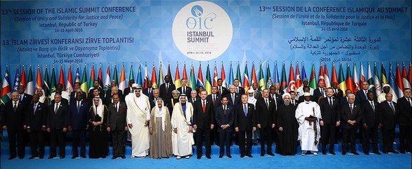 İstanbul, İslam ülkeleri liderlerini ağırladı | FOTO