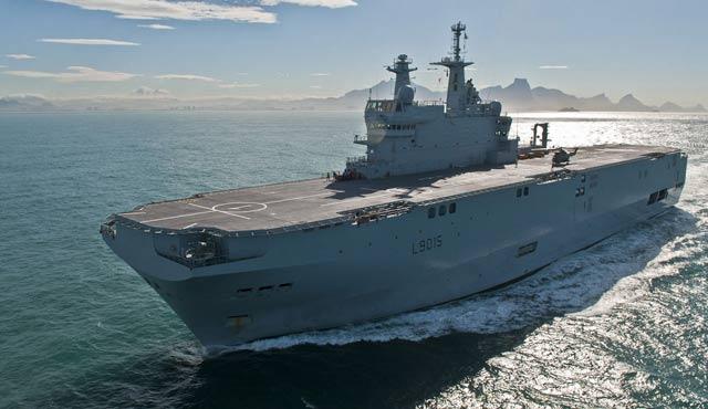 Rusya'nın alamadığı Mistral gemileri Mısır'da
