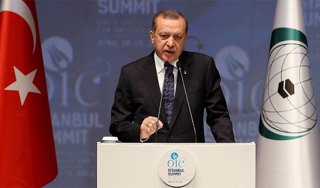 Erdoğan: Birlik olmadan barış inşa edilemez
