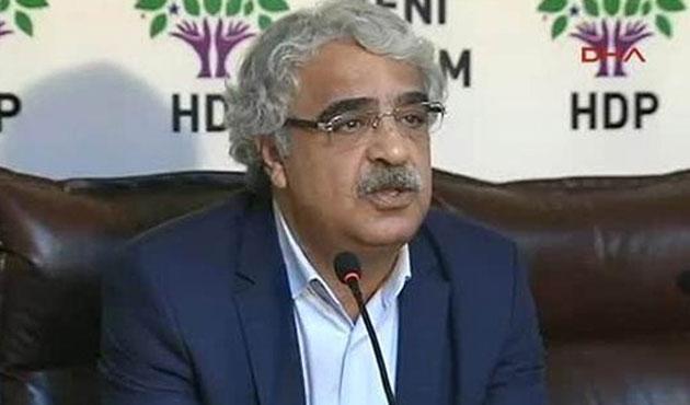HDP'den CHP'ye dokunulmazlık tepkisi