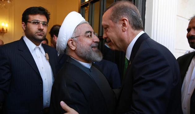 Cumhurbaşkanı Erdoğan, Aliyev ve Ruhani ile görüştü