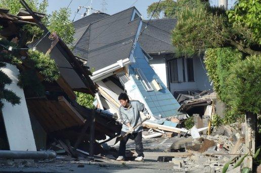 Japonya'daki depremde ölü sayısı artıyor