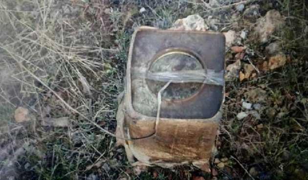 Tunceli'de baz istasyonuna bombalı tuzak