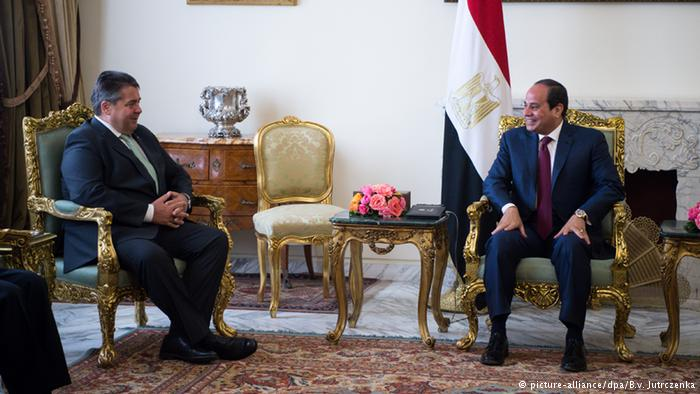 Mısır'a bir ziyaret de Almanya'dan