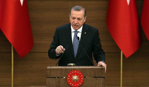 Erdoğan'dan AB'ye tepki