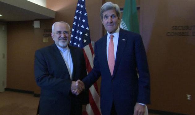 Kerry ve Zarif ABD'de görüştü