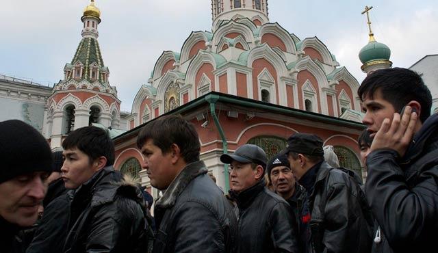 Rusya'ya Kırgız işçi akışı hızlandı
