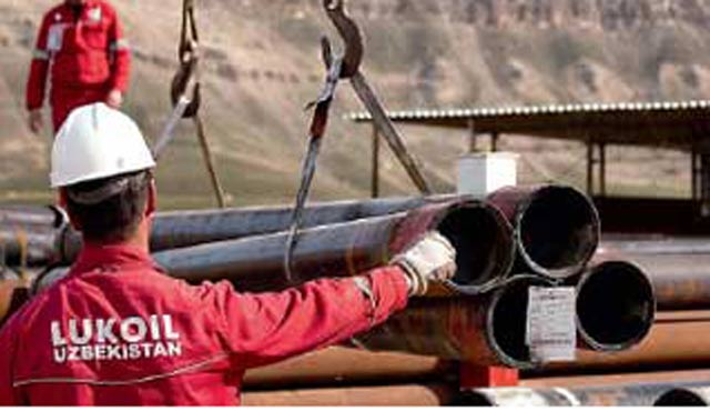 Rus Lukoil şirketinden Özbekistan'da dev yatırım
