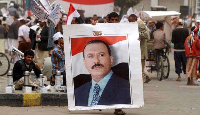 Yemen devrik lideri Salih'ten Rusya'ya övgü