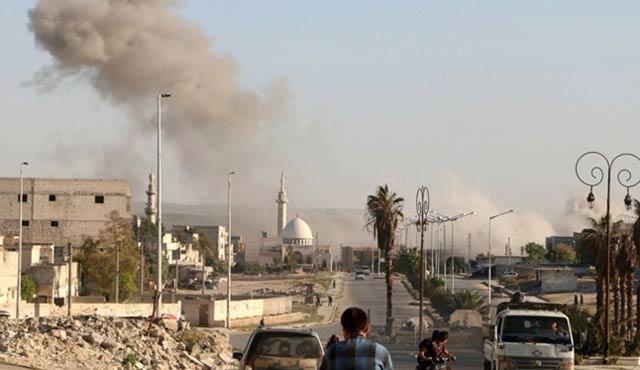 Rus jetleri Halep'i bombaladı: 14 ölü