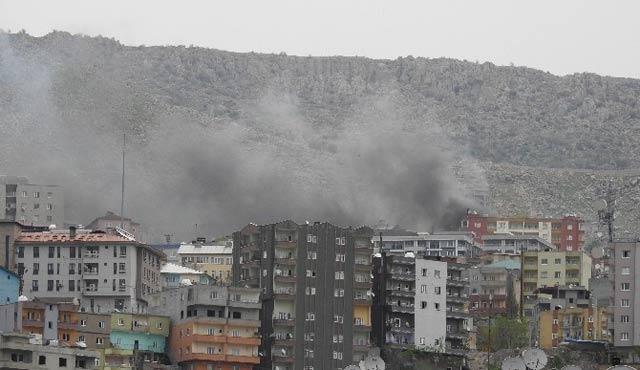 PKK 112 Komuta Merkezi'ne patlayıcı yerleştirmiş