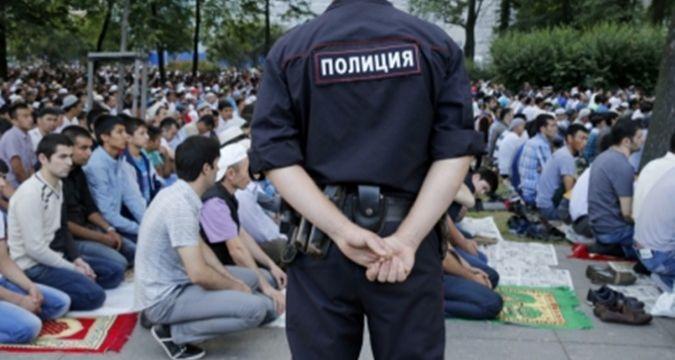 Rus polisinden camide kimlik sorgusu