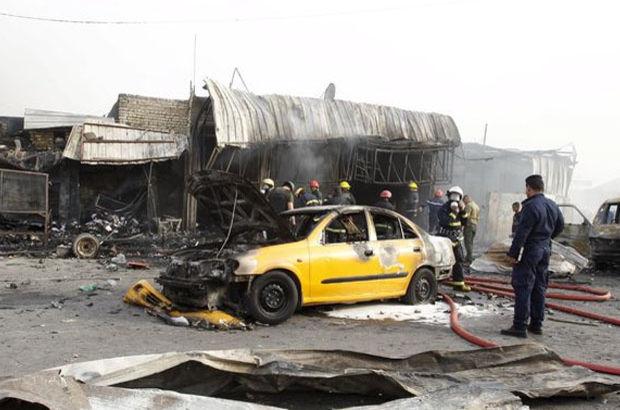 Irak'ta bomba yüklü araç patladı: En az 11 ölü