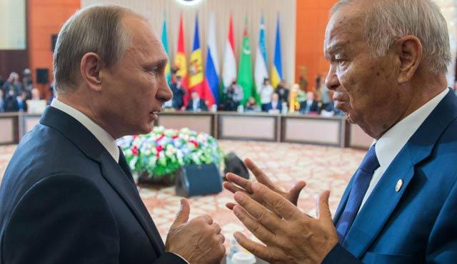 İslam Kerimov'un Rusya ziyareti başladı