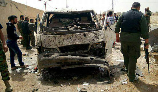 Suriye'nin kuzeyinde bomba yüklü araçla saldırı