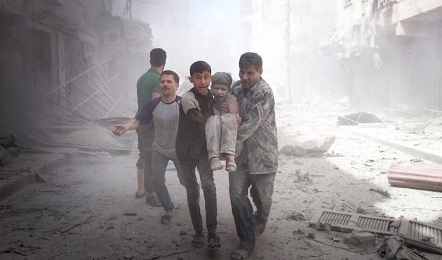 Şam, Halep ve İdlib ağır bombardıman altında