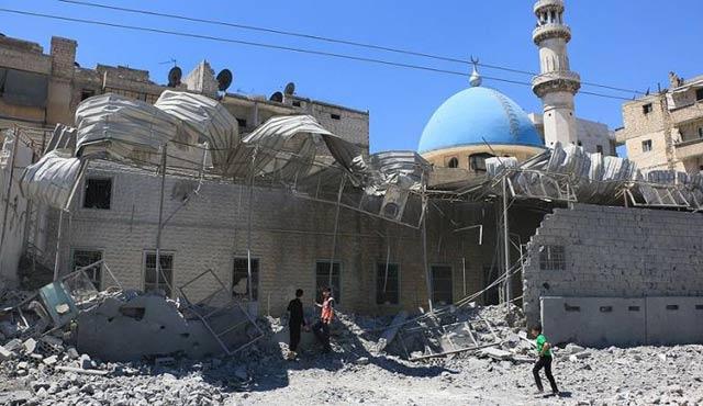 Halep'te ilk kez cuma namazı kılınmadı