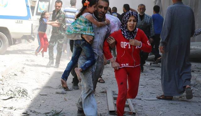 'Halep'tekiler katledilirken Lazkiye'de ateşkes tiyatrodur'