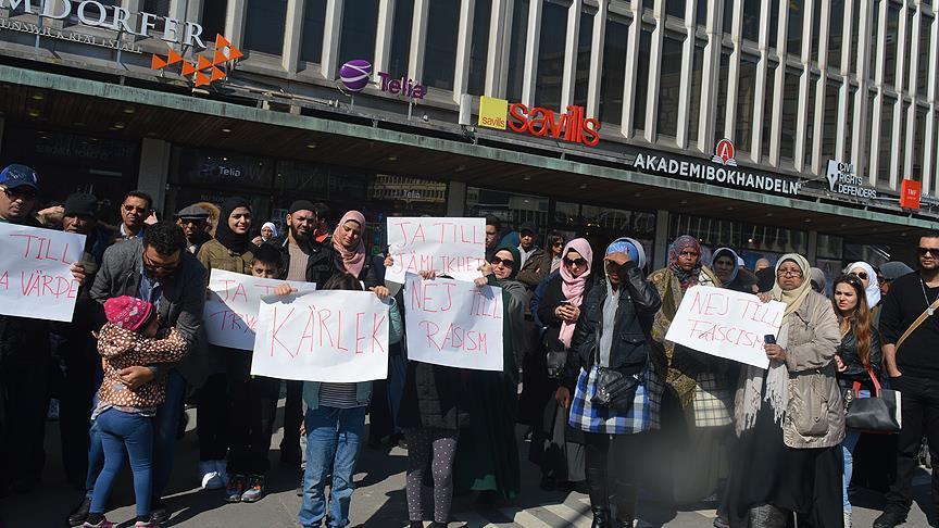 Müslümanlardan İsveç medyasına protesto