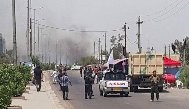 Bağdat'ta üç bombalı saldırı