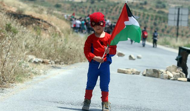 Filistinli mahkum çocuklar için kampanya