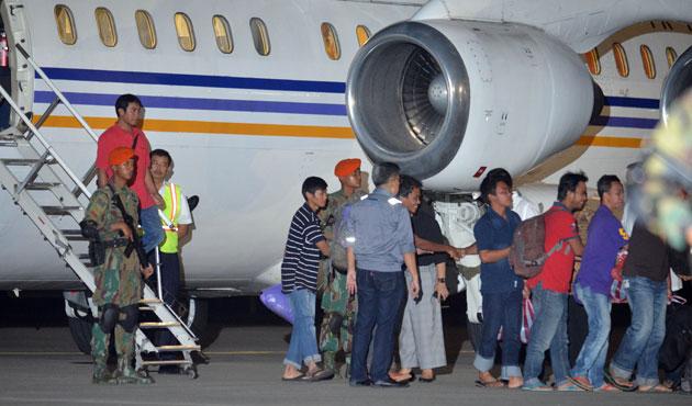 Ebu Seyyaf, Endonezyalı gemicileri serbest bıraktı