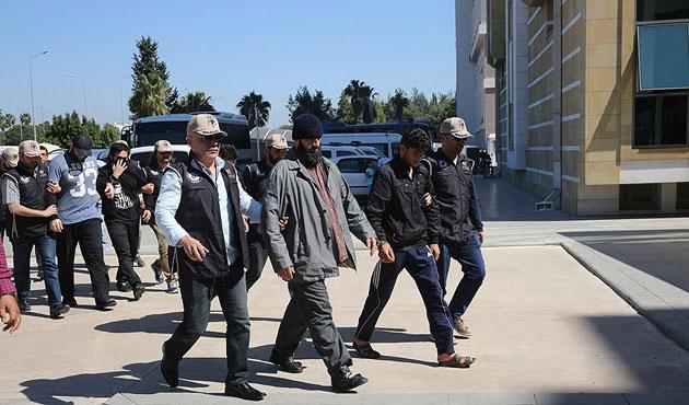 IŞİD operasyonlarında 454 kişi tutuklandı