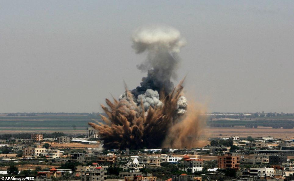 İsrail'den Gazze'ye 9 günde 26 saldırı