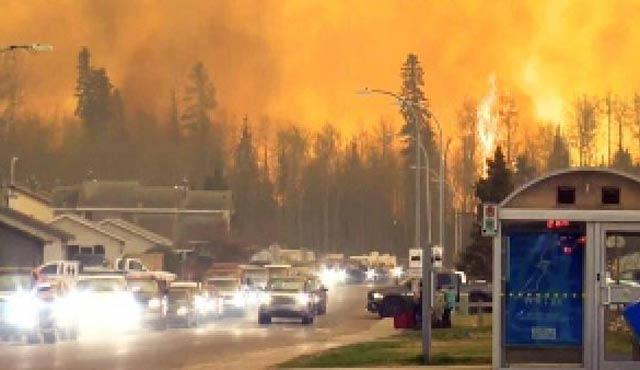 Kanada'da yangının zararı 9 milyar dolar