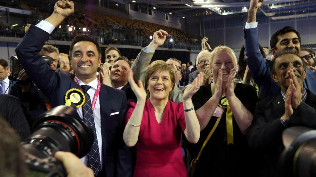 İskoçya'da bağımsızlık yanlılarından zafer