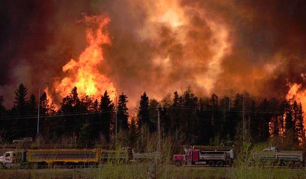 Kanada'da yangın kontrol altına alınamıyor