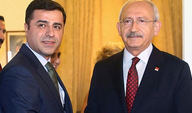 Kılıçdaroğlu ve Demirtaş hakkında yeni fezleke