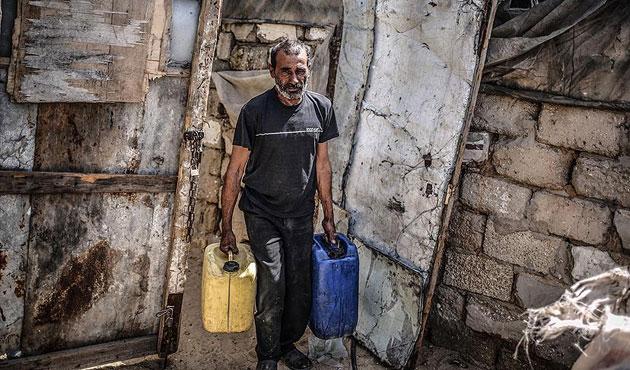 Gazze'de içme suyu sıkıntısı had safhada